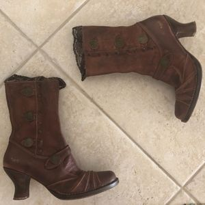 ART Spain leather vintage aesthetic granny boot